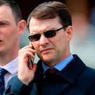 Trainer Aidan O'Brien. Photo: PA