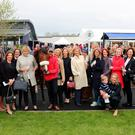 Members of the syndicate were at Naas on May 20 after Chicas Amigas finished second in The Coolmore Stud Irish EBF Fillies Stakes. Photo: Caroline Norris