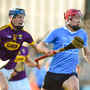 Colin Currie of Dublin in action against Liam Stafford of Wexford. Photo: David Fitzgerald/Sportsfile
