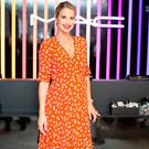 Vogue Williams pictured at the launch of MAC Pro collection at Brown Thomas Dublin. Picture: Anthony Woods