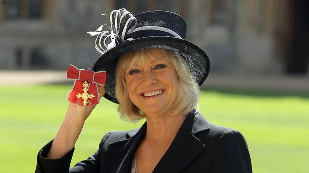 TV presenter Sue Barker will be presenting at Wimbledon (Steve Parsons/PA)