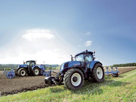 WR Shaw Ltd are the best-known hirer of New Holland tractors, with a fleet of over 70 models available
