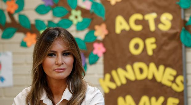 Melania Trump criticised for wearing jacket with 'I really don't care' on back ahead of visiting immigrant children
