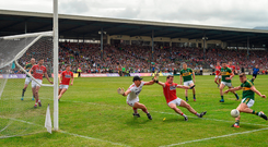 James O'Donoghue has been a thorn in the side of Cork in Kerry's recent successes over their Munster neighbours. Photo: Sportsfile