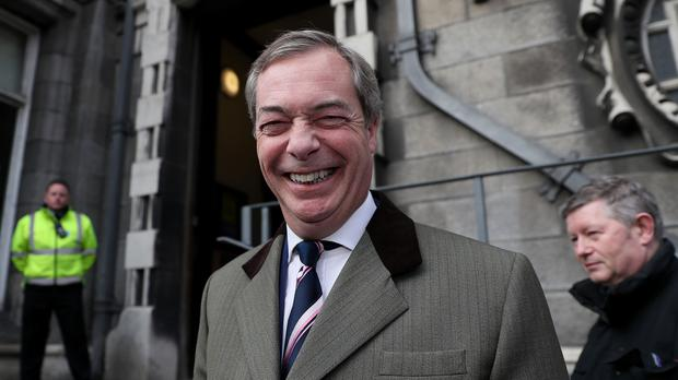 Nigel Farage said Love Island sounds like rather good fun (Brian Lawless/PA)