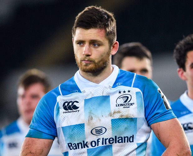 Ross Byrne one of the three Leinster out-halves in this Ireland squad. Photo: Ramsey Cardy/Sportsfile