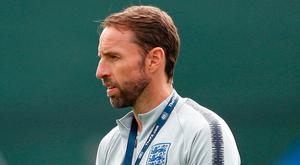 England manager Gareth Southgate has hit out at the British media. Photo: Lee Smith/Reuters