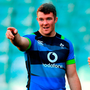 LEADING FROM THE FRONT: Skipper Peter O'Mahony makes his point at the captain's run at the Allianz Stadium in Sydney Pic: Sportsfile