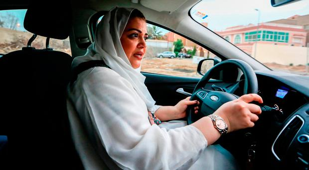 Saudi women brave man's world as driving ban is lifted