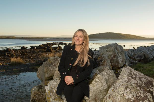 Sharon Shannon can smile again after years of anguish as her soul mate Jimmy fought to stay alive. Photo: Kip Carroll