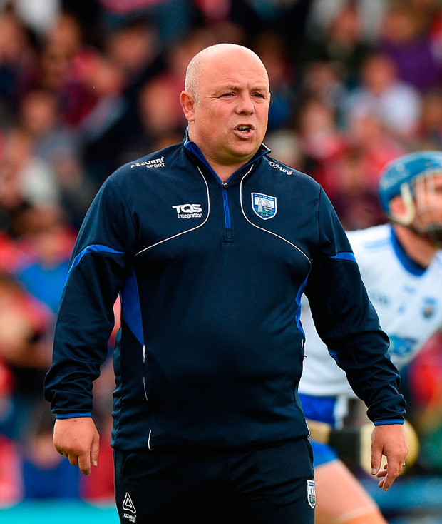 Derek McGrath took a holistic approach to management – his successor will have to adopt a different tack from the outset. Photo: Matt Browne/Sportsfile
