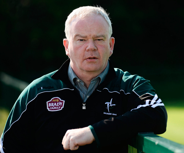 Kildare boss Joe Quaid. Picture : Sam Barnes/Sportsfile