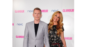 Cat Deely and Patrick Kielty