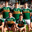 Kerry's side line-up ahead of the final. Photo: Sportsfile