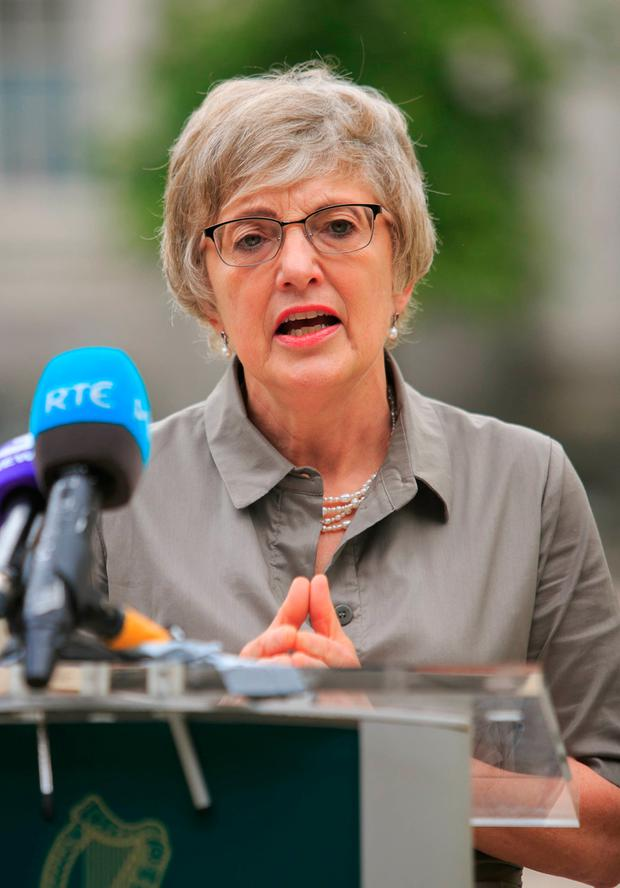 RESPONSE: Katherine Zappone, Minister for Children and Youth Affairs, commissioned the report into Tusla after the false allegations made against Maurice McCabe. Photo: Gareth Chaney Collins