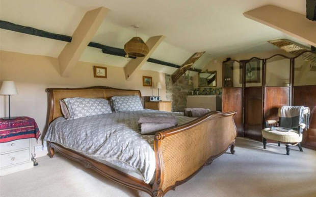 One of the bedrooms. Photo: Stags