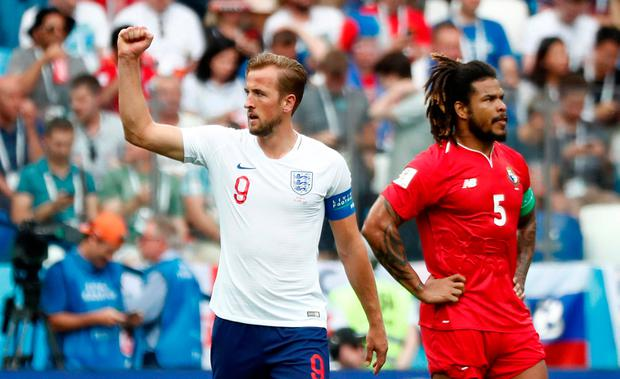 World Cup rout for England over Panama