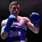 5 December 2015; Ray Moylette, St Annes. IABA National Elite Championships. National Boxing Stadium, Dublin. Picture credit: Ramsey Cardy / SPORTSFILE