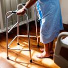 Older patients are especially vulnerable to falls (photo posed)