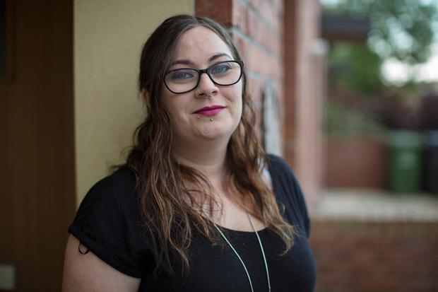Amy Gilligan waived her right to anonymity to raise issues over offenders coming off the sex offenders register. Photo: Arthur Carron