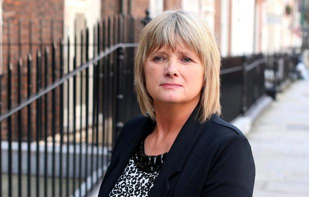 Cynthia Owen is the mother of Tinder rapist Patrick Nevin. Photo: Damien Eagers