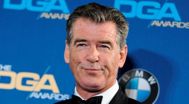 Pierce Brosnan would be happy for Hardy to play Bond. AP Photo
