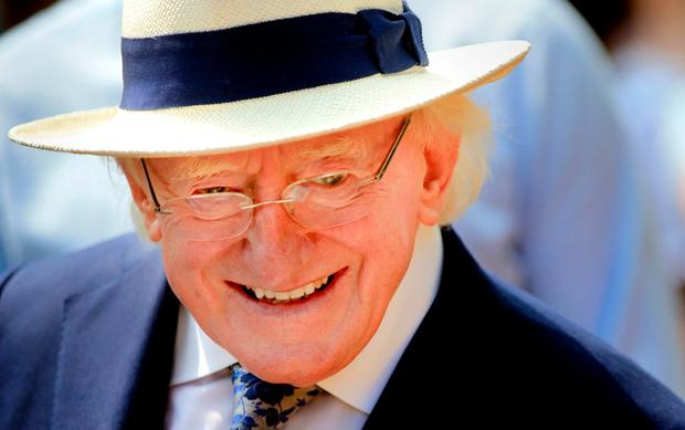 President Michael D Higgins. Photo: Gerry Mooney
