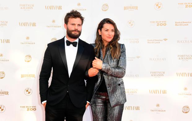 Jamie Dornan and wife Amelia Warner welcome third baby girl