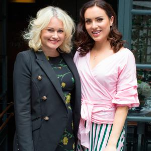 Lorna Weightman & Holly Carpenter at the launch of Specsavers' Darren Kennedy Recommends 2018 collection, held in The Woollen Mills. Picture: Anthony Woods
