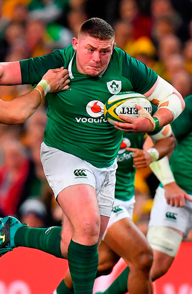 Tadhg Furlong of Ireland. Photo: Sportsfile