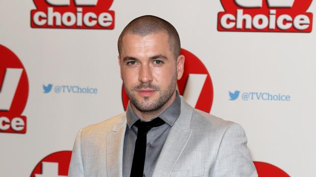 Shayne Ward is nominated for best soap actor at the TV Choice Awards (Daniel Leal-Olivas/PA)
