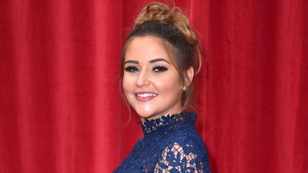 Jacqueline Jossa shares sweet picture of her daughter holding new baby (Matt Crossick/PA)