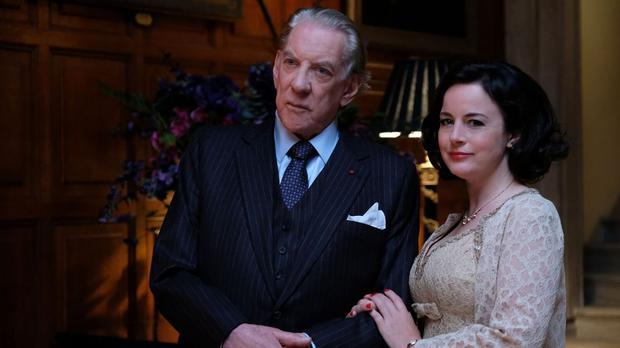 Donald Sutherland as J Paul Getty in Trust (FX Productions/BBC)