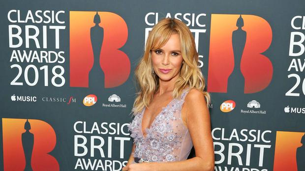 Amanda Holden has shared footage of the attempted mugging (Isabel Infantes/PA)