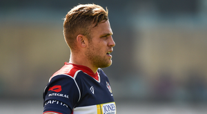 Ian Madigan during a Pre-season Friendly match between Connacht and Bristol at the Sportsground in Galway.