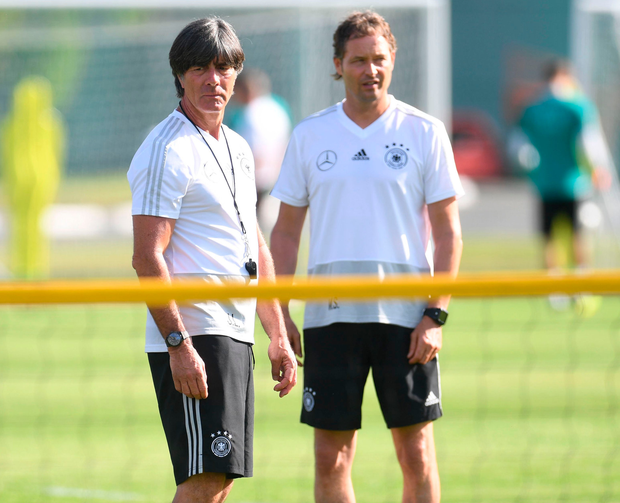Germany coach Joachim Loew knows his team ' got a bit of luck' against Sweden. Photo: Getty Images