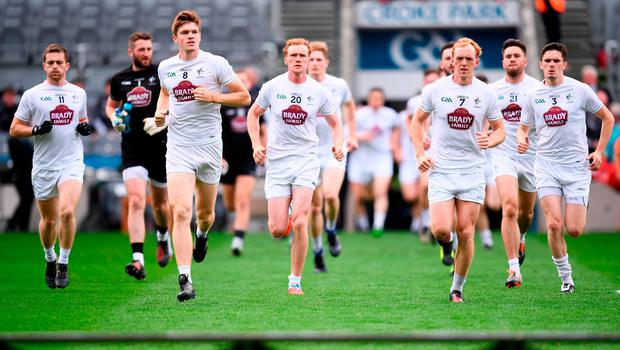 Kildare's players will be the losers if qualifier venue row is not resolved. Photo: Stephen McCarthy/Sportsfile