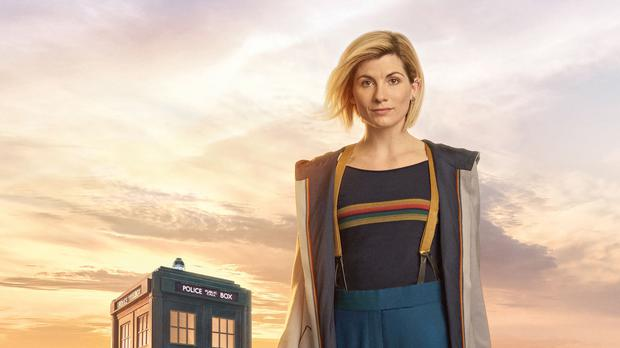 Jodie Whittaker as the Doctor (Steve Schofield/BBC)