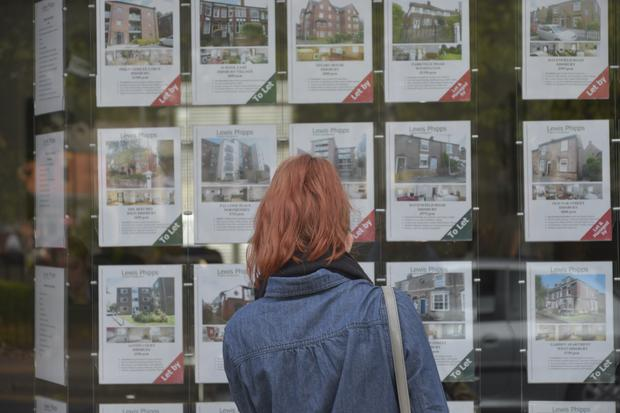 London was the only area where house prices are lower than a year ago - following a trend also seen in the first quarter of 2018 Stock photo: GETTY
