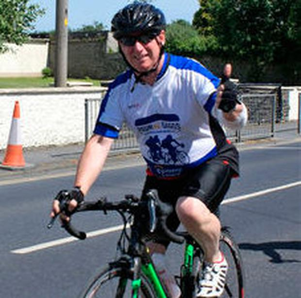 Gerry Tobin pictured during the Tour de Gaggs 2018 on Saturday