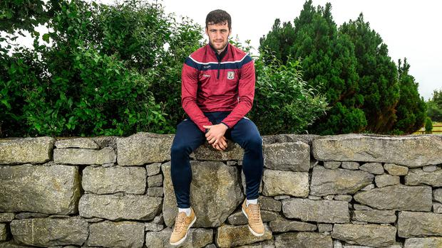 Captain David Burke believes Galway were the hardest working team in every game they played last year. Photo: Sportsfile