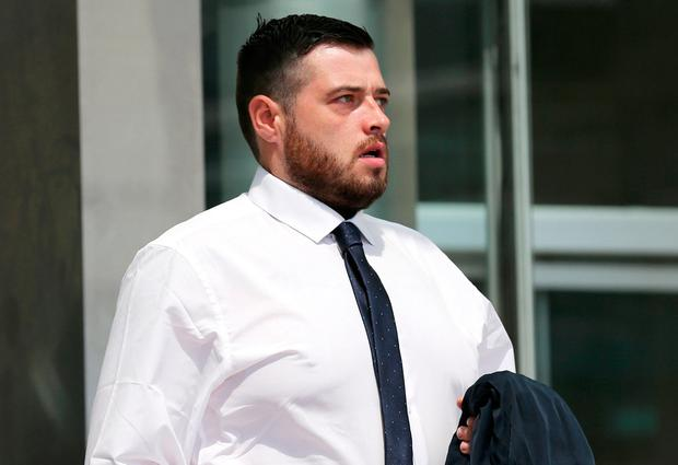 Dean Creedy handed himself in after 'Crimecall' show. Picture: Collins