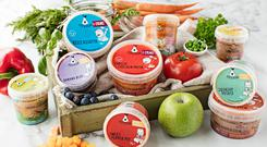 Items from the Pip & Pear baby food range