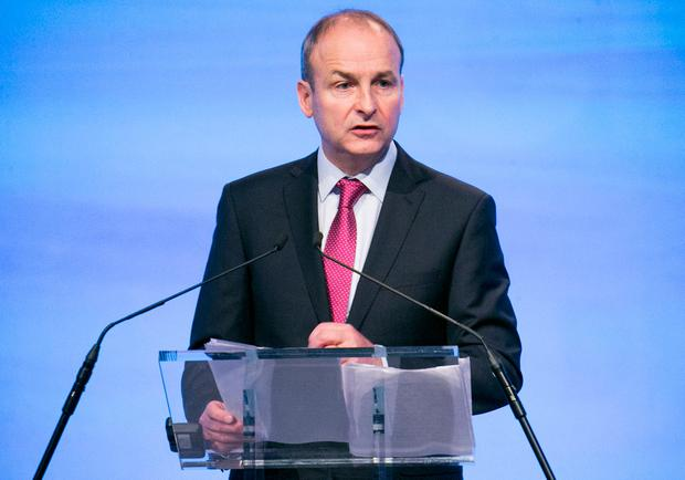 Micheal Martin Picture: Kyran O'Brien