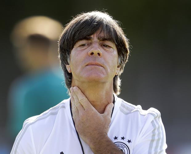 Germany manager Joachim Loew. Photo: AP