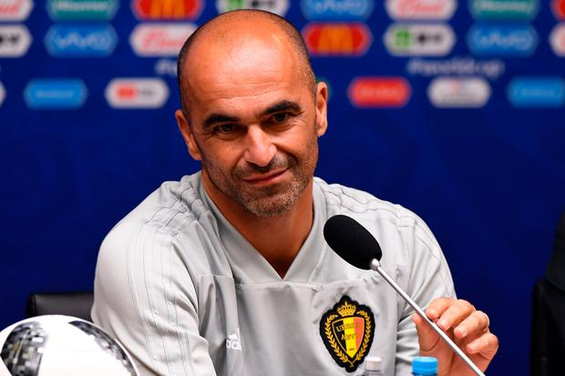 Belgium manager Roberto Martinez. Photo: Getty Images