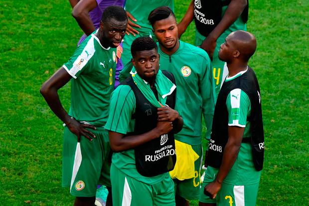 Unluckiest team: Senegal. Photo: AFP/Getty Images