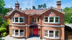 No 4 Castle Avenue on Churchtown Road Upper in Dublin 14 is a four-bedroom detached home on the market for €1.95m