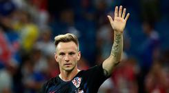 Soccer Football - World Cup - Group D - Iceland vs Croatia - Rostov Arena, Rostov-on-Don, Russia - June 26, 2018 Croatia's Ivan Rakitic celebrates after the match. REUTERS/Albert Gea