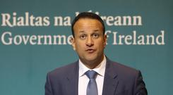 Taoiseach Leo Varadkar 'profoundly regrets' if he has given the impression he doesn't respect the media Lorraine O'Sullivan/PA wire.